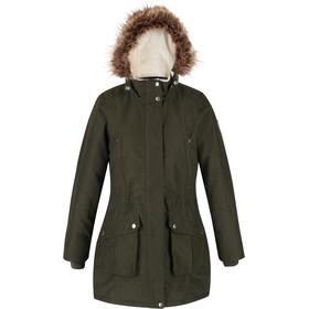 Regatta Sefarina Wasserdichter Isolierter Mantel Damen dark khaki